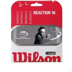 Strings for the Wilson Reaction 16 tennis racket
