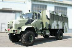 Military special equipment KRAZ-5233HE's Watch