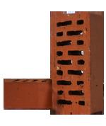 Кирпич керамический рядовой пустотелый М-125
