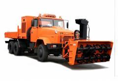 DM utility KRAZ-6322 equipmen