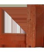 Кирпич керамический рядовой полнотелый М-100