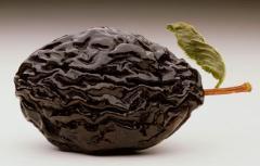 Prunes - fruit dried (plum)