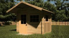 Favorable lodge for Doris's dacha