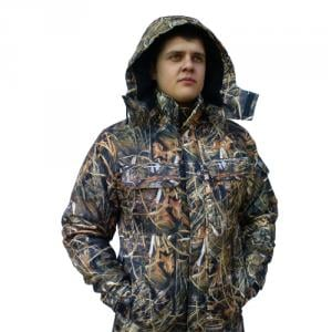 The jacket is camouflage.