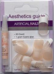 False artificial nails of Globus group N-6731