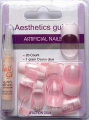 False artificial nails of Globus group N-6722