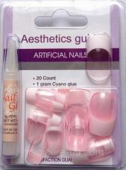 False artificial nails of N-6730 Globus group