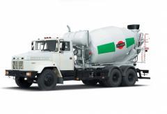 Auto concrete mixer KRAZ-6233P4-TIP1
