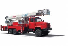 ATP-40 KRAZ-63221 truck crane