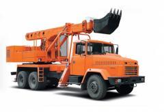 Автокран Краз-65053 UDS-114R