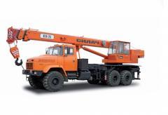 Автокран Краз-65053 КТА-25 і Краз-63221 КТА-25