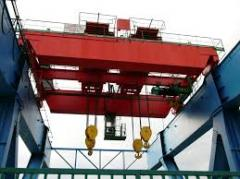 The crane goat hook loading capacity is up to 3.2