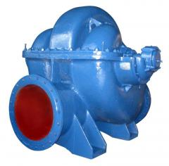 Pumps horizontal type D for pumping of water and