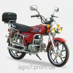 Мотоцикл SP110-2(4т., 110см3,  3 фары, задний