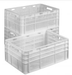 Ящики пластиковые, тара полиэтиленовая, ящики для