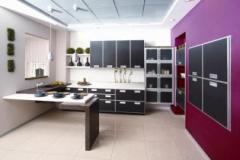 Кухня бизнес класса Капри, Шкафы для посуды и