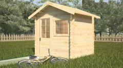 Log cabin Tenos