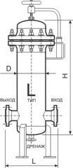 Фильтр-сепаратор газа типа ФСГ