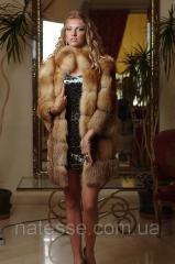 Fur coat a short fur coat a vest a vest from fur