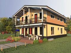 Frame house 205 of sq.m Izbud