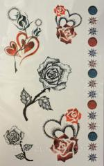 Tattoo (sticker) on Globus group DBTR-038 body