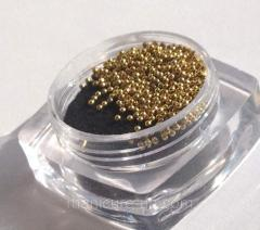 Beads (bulyonka) for design of nails and eyelashes