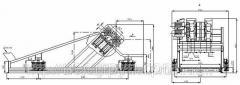 Грохот инерционный самобалансный ГИСТ-61