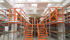 Многоэтажные стеллажи (мезонины)