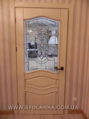 Doors from an ash-tree waterproof