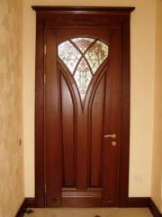 Doors from a tree Kiev region