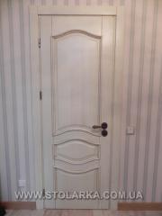 Doors double of an ash-tree