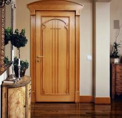 Doors from an alder from the producer
