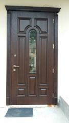 Doors from an oak, an alder, an ash-tree