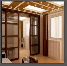 Partitions glass