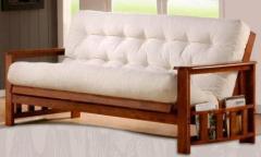 Natural tree sofa bed