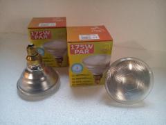 Лампа інфрачервона Zilight PAR38 175 Вт біла
