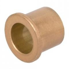 The plug is bronze, with flange
