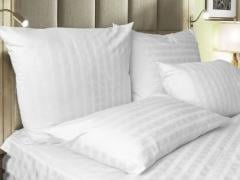 Fabric for bed linen, strayp-sateen, 100% cotton