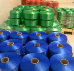 The thread is multifilament polypropylene