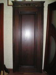 Двери из дуба,  массива