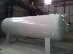 Gas separators filters for final purification of natural and associated petroleum gas from the liquids (condensate, hydrate inhibitor, water)