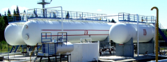 Gas separators for oil degassing of non-foamed and
