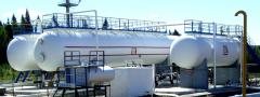 Plynové separátory pro ropné odplynění jiného než pěnového a čištění plynů