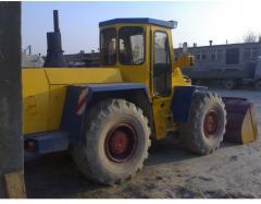 Hanomag-44G wheel loader. wheel second-hand loader