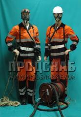 Противогазы шланговые ПШ-20ЭРВ-2 с электроручной