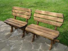 Benches garden wooden