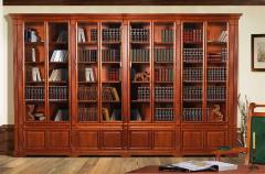 Production of library furniture by individual