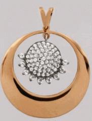 Кулони, підвіски зі сплавів металу різного