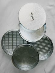 Sieve laboratory for analyses of raw materials