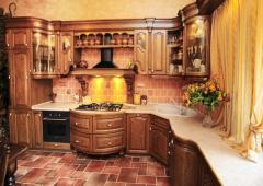 Furniture for kitchen from the producer